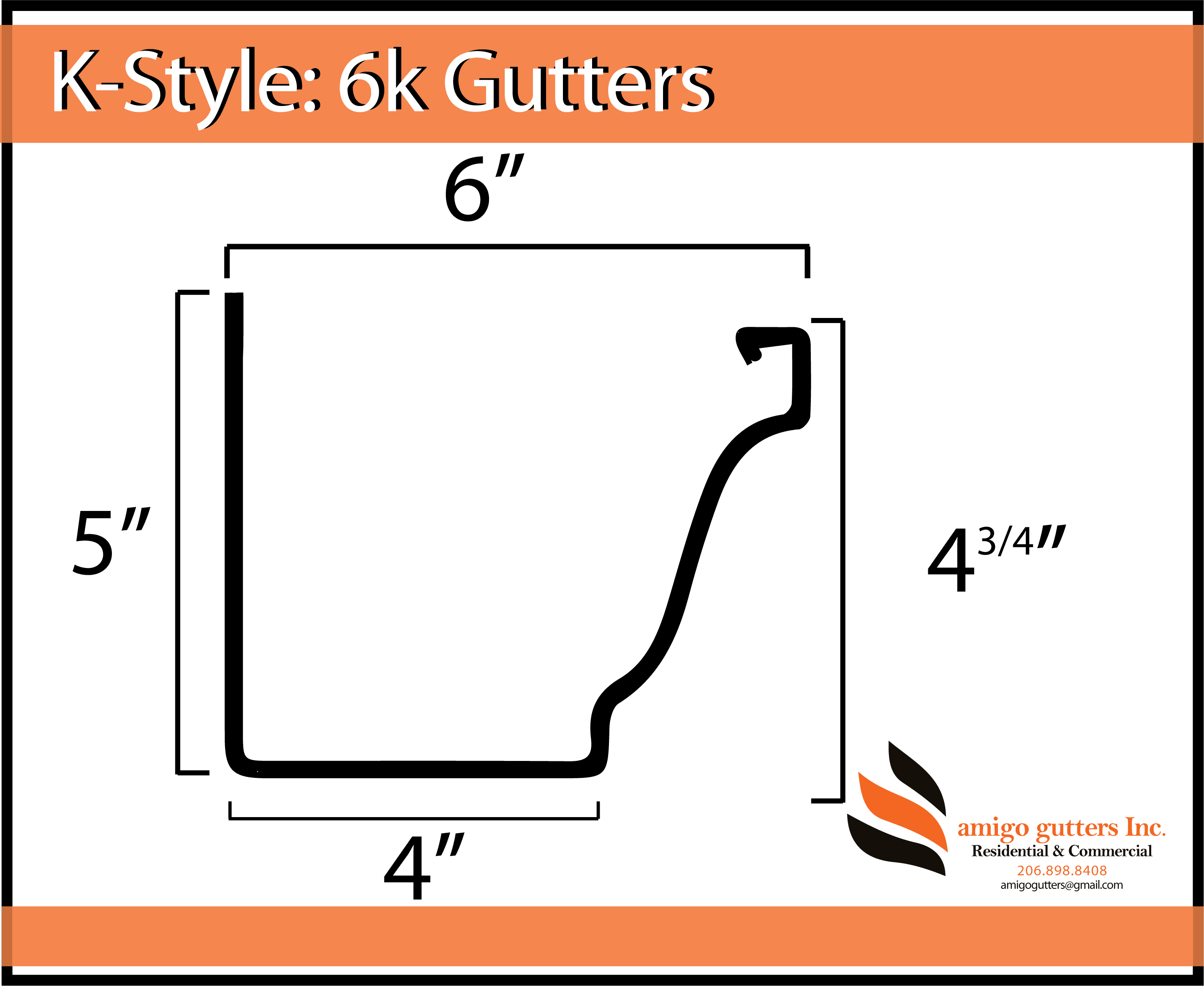 Pick Your Gutter Profile Aluminum Copper Zinc Amigo Gutters Find over 100+ of the best free profile images. gutter profile aluminum copper zinc