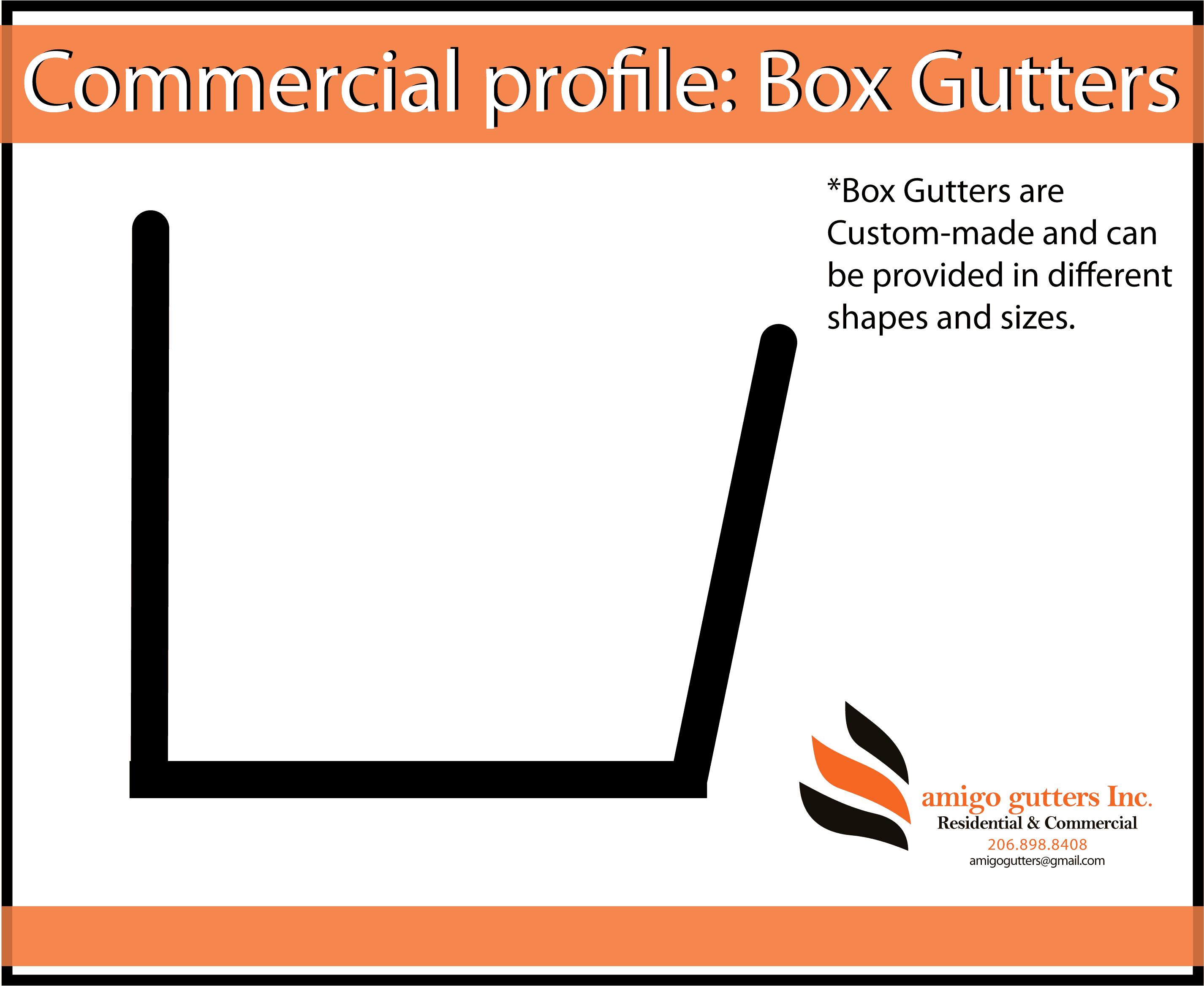Pick Your Gutter Profile Aluminum Copper Zinc Amigo Gutters